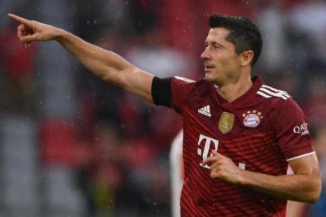 Lewandowski é o cara do Bayern (Foto: CHRISTOF STACHE / AFP)