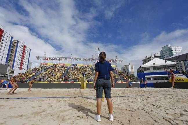 Arena de Itapema ficou lotada em 2019 Wander Roberto Inovafoto CBV