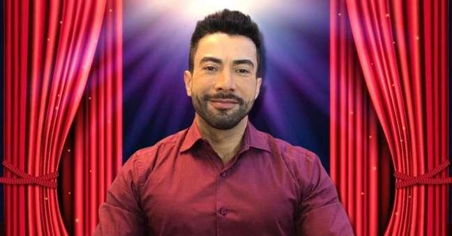 Luiz Carlos Araújo era ator, cantor, locutor, apresentador e voluntário de ações sociais