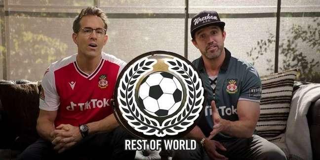 Ryan Reynolds e Rob McElhenney anunciam time em FIFA 22
