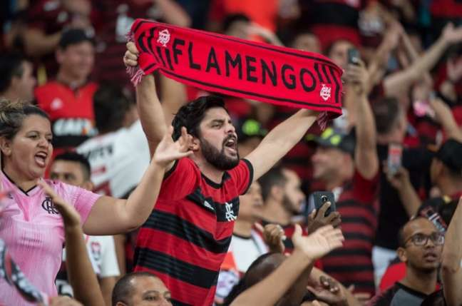 Torcida do Flamengo voltará às arquibancadas do Maracanã nesta quarta-feira (Foto: Alexandre Vidal/Flamengo)