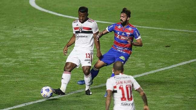 Fortaleza e São Paulo decidem uma vaga na semifinal da Copa do Brasil(Foto: Paulo Pinto/Saopaulofc.net)