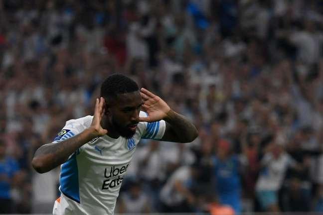 Gerson chegou ao Olympique de Marseille recentemente e rapidamente virou titular (Foto: NICOLAS TUCAT / AFP)