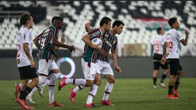 Fluminense e Atlético-MG se enfrentam às 19h, no Mineirão (LUCAS MERÇON / FLUMINENSE F.C.)