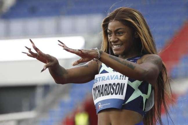 Richardson foi excluída das Olimpíadas por testar positivo para a substância