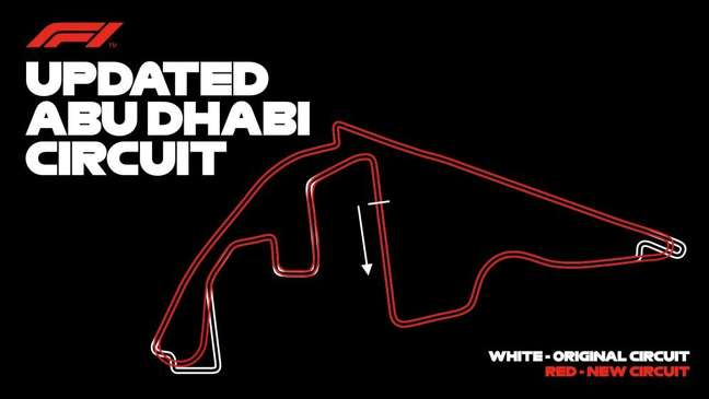 A organização do GP de Abu Dhabi revelou as mudanças que serão feitas ainda para 2021