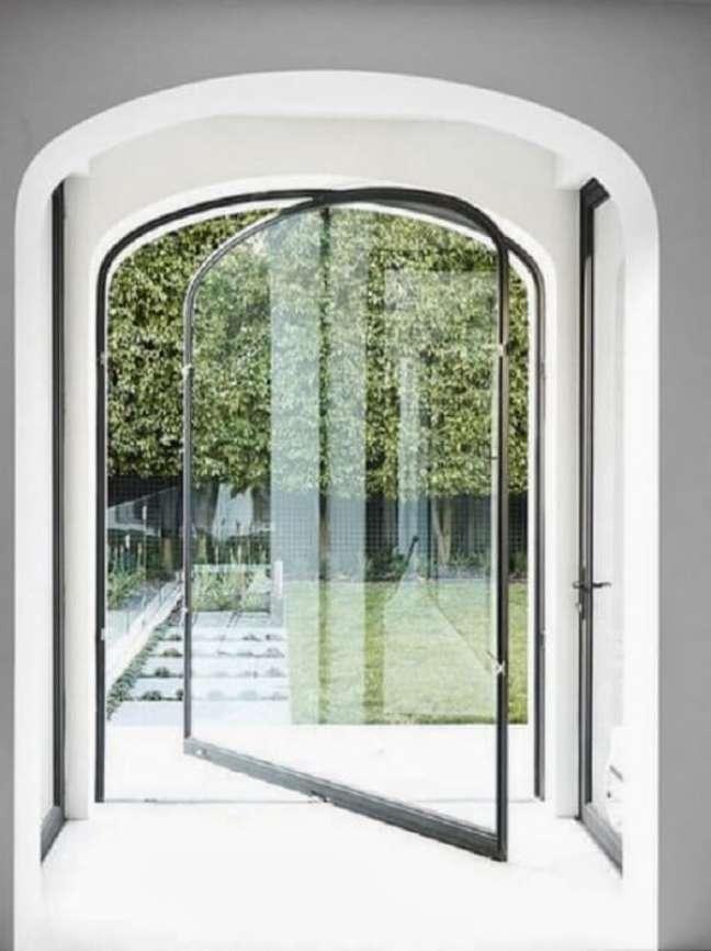 20. Aposte em uma porta de vidro para sala diferenciada. Fonte: The Loop