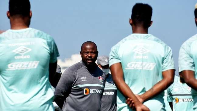 Marcão terá problemas no Fluminense para jogo de volta com o Atlético-MG (Foto: Mailson Santana/Fluminense FC)