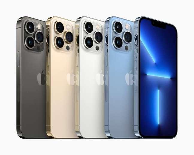 iPhone 13 Pro Max é o modelo de ponta da Apple, com melhor bateria, câmera e tela