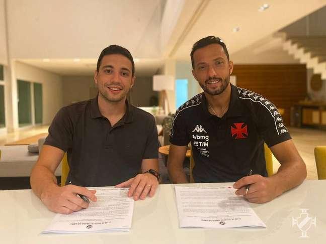 Nenê está de volta ao Vasco após quatro anos de sua primeira passagem.