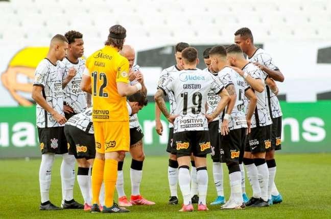 Corinthians tem tido dificuldade para criar jogadas de ataque no Brasileirão (Foto: Rodrigo Coca/Ag. Corinthians)