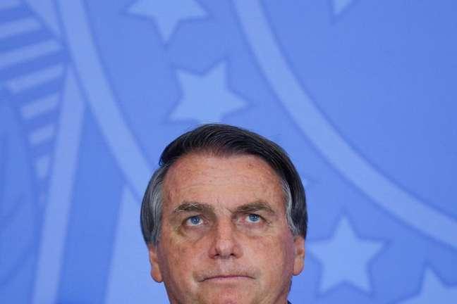 O presidente Bolsonaro em cerimônia em Brasília 13/09/2021 REUTERS/Adriano Machado