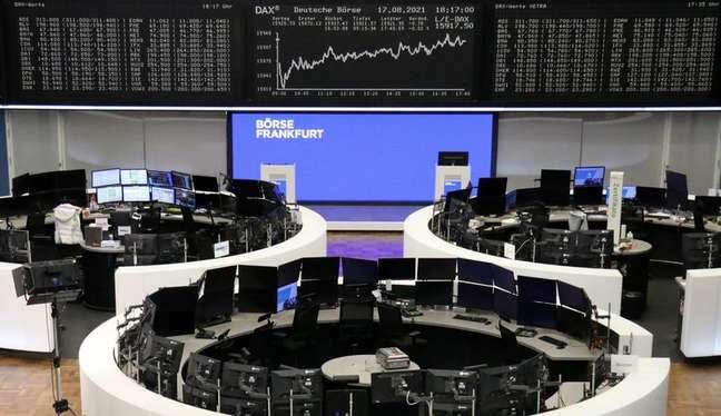 Bolsa de Valores de Frankfurt 17/08/2021 REUTERS