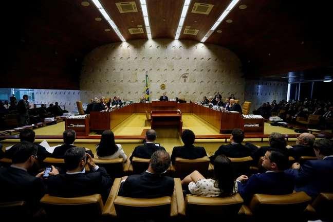 Plenário do Supremo Tribunal Federal 17/10/2019 REUTERS/Adriano Machado
