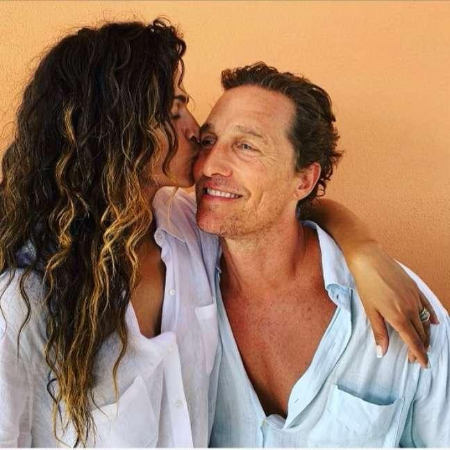 Camila Alves e Matthew McConaughey