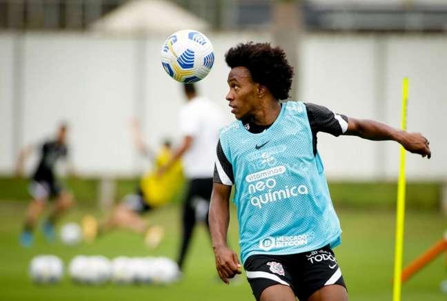 Willian não joga pelo Corinthians desde 2007 (Foto: Rodrigo Coca/Ag.Corinthians)