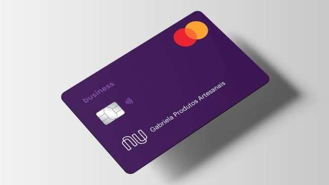 Cartão da conta PJ do Nubank