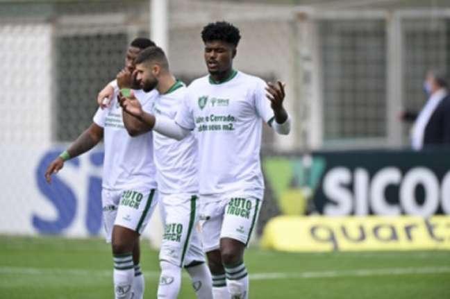 O América-MG vem de duas vitórias seguidas e encara o Corinthians no fim de semana-(Mourão Panda/América-MG)