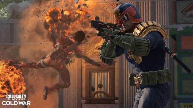 Juiz Dredd em Call of Duty