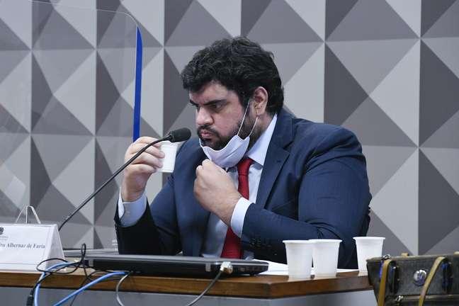 Marconny confirma relação com Jair Renan à CPI da Covid