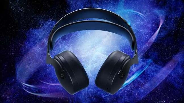 Headset Pulse 3D, do PS5, na cor Midnight Black