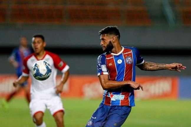 Atleta retornou ao Bahia em 2020 após passagens por Corinthians e Grêmio (Felipe Oliveira/Bahia)