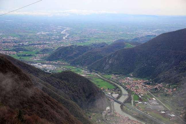 Monte Grappa, na Itália