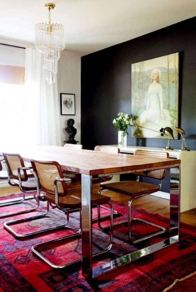 48. Sala moderna com cadeira cesca – Foto Erin of Design Crisis' style
