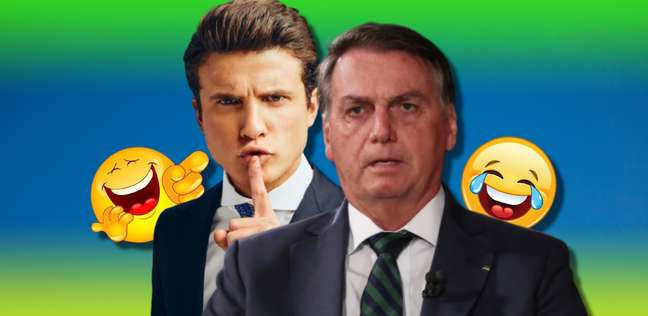 André Marinho se projeta ao fazer críticas e sátiras de Bolsonaro