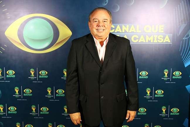 Luciano do Valle foi locutor esportivo durante muitos anos na Band Rodrigo Belentani Band