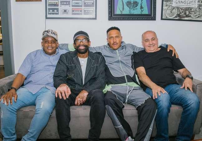 Juary, Gilberto Sorriso, Mano Brown e Pita se encontram para papo em podcast