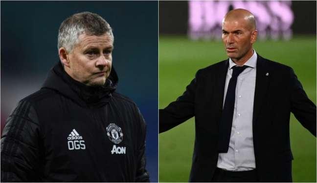 Solskjaer comanda o Manchester United desde dezembro de 2018 (Foto: ANNEGRET HILSE, GABRIEL BOUYS / AFP)
