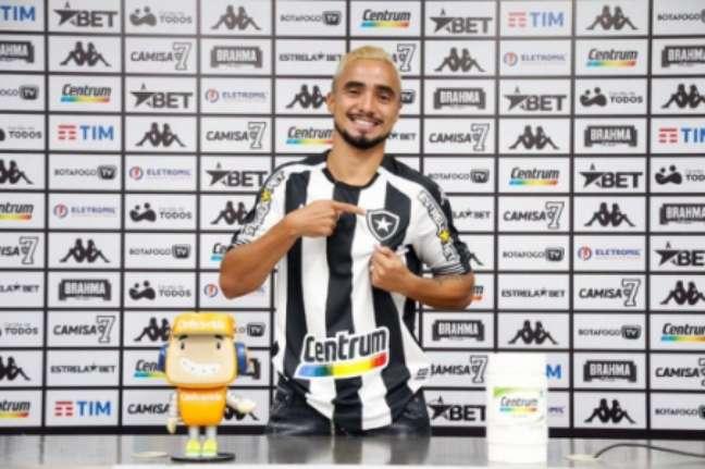 Rafael é reforço do Botafogo (Foto: Vítor Silva/Botafogo)