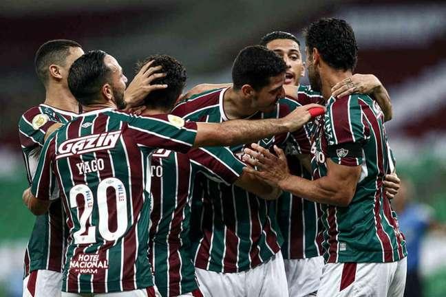 Fluminense venceu o São Paulo na última rodada do Brasileirão (Foto: Lucas Merçon/Fluminense FC)