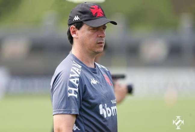 Fernando Diniz estreia no comando técnico do Vasco nesta quinta-feira contra o CRB (Rafael Ribeiro / Vasco)