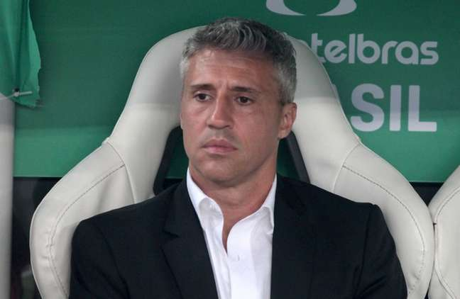 Crespo durante derrota para o Fortaleza (Foto: Rubens Chiri / saopaulofc.net)