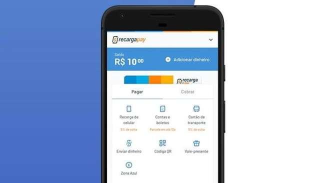App do RecargaPay no Android )