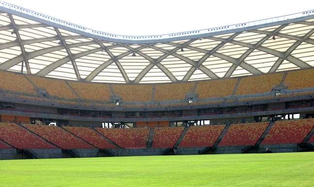 Governador do Amazonas confirmou que a Arena da Amazônia receberá 30% da capacidade na partida entre Brasil e Uruguai, pelas Eliminatórias da Copa do Mundo de 2022.