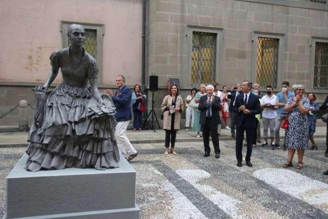 Estátua representa Cristina Trivulzio di Belgiojoso