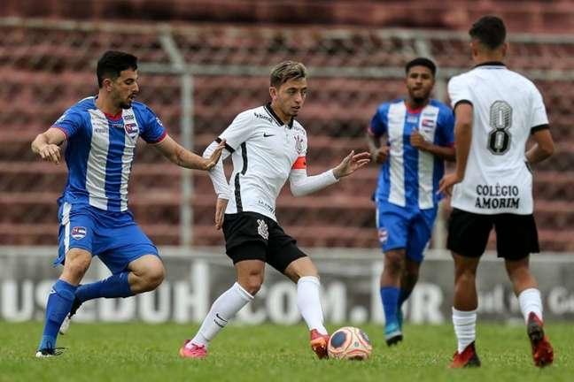 Corinthians empatou com o Nacional em 2 a 2 pelo Paulistão sub-20 (Foto: Marco Galvão/Ag. Corinthians)
