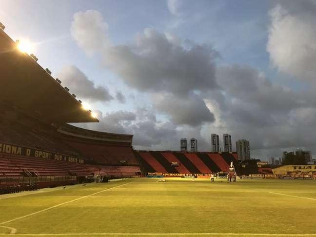 Ilha do Retiro deixou de ser um 'alçapão' do Sport (Foto: Reprodução/Twitter)