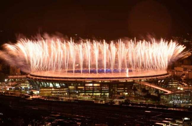 O Maracanã foi palco de jogos da Copa do Mundo de 2014 e dos Jogos Olímpicos de 2016 (Foto YASUYOSHI CHIBA / AFP)