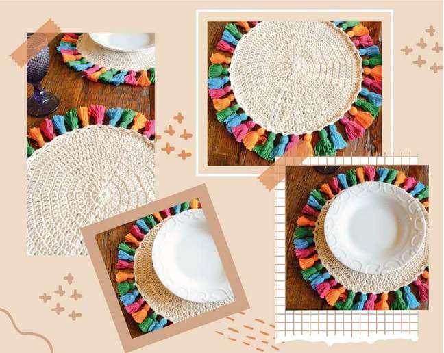 1. Saiba como levar o artesanato para a mesa posta – Foto: Circulo