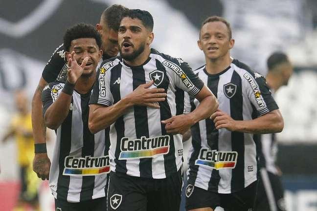 Daniel Borges marcou o primeiro gol pelo Botafogo contra o Londrina (Foto: Vítor Silva/Botafogo)