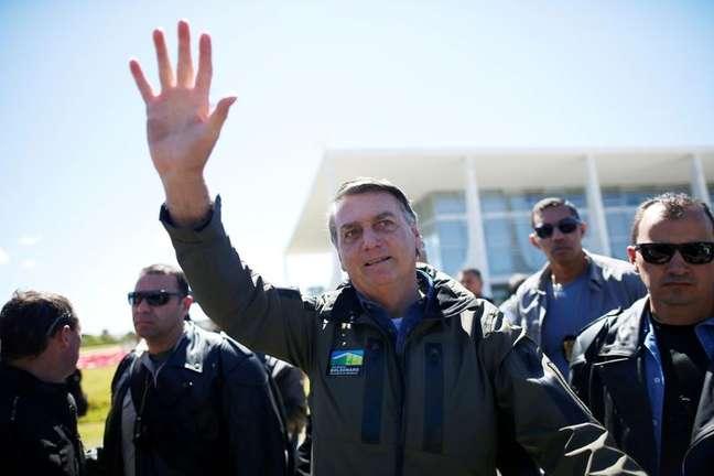 Presidente Jair Bolsonaro em Brasília 08/08/2021 REUTERS/Adriano Machado