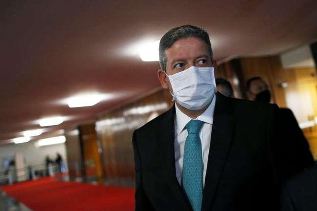 O presidente da Câmara, Arthur Lira 2/02/2021 REUTERS/Adriano Machado