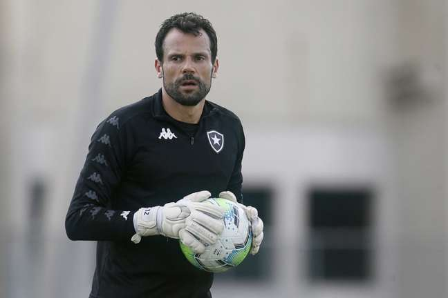 Cavalieri chegou ao Botafogo em 2019 (Foto: Vítor Silva/Botafogo)