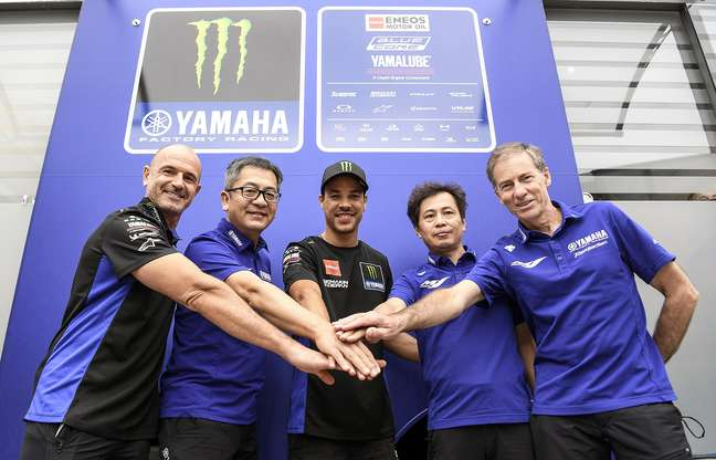 Franco Morbidelli vai estrear na Yamaha em Misano
