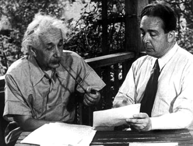 Albert Einstein e Leo Szilard