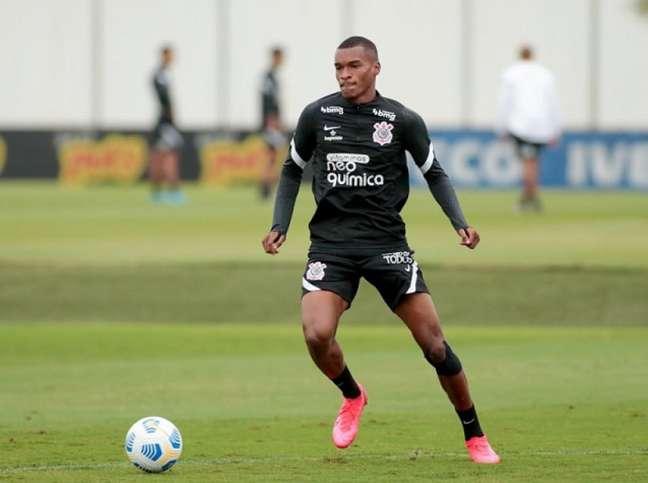 Matheus Alexandre ainda não teve chances de entrar em campo pelo Timão (Foto: Rodrigo Coca/Ag. Corinthians)